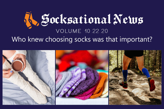 Who knew choosing socks was that important?