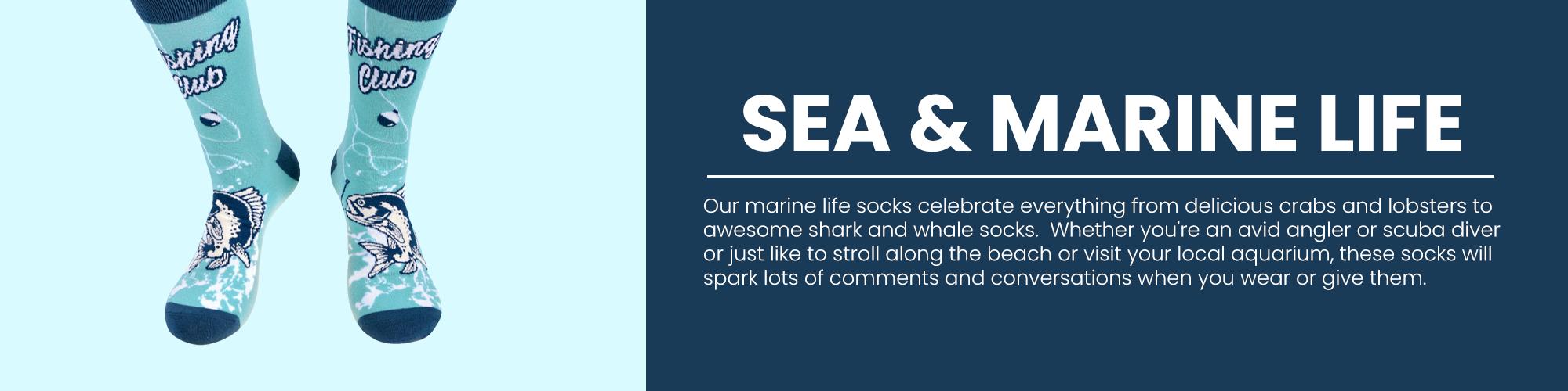Men's Sea and Marine Life
