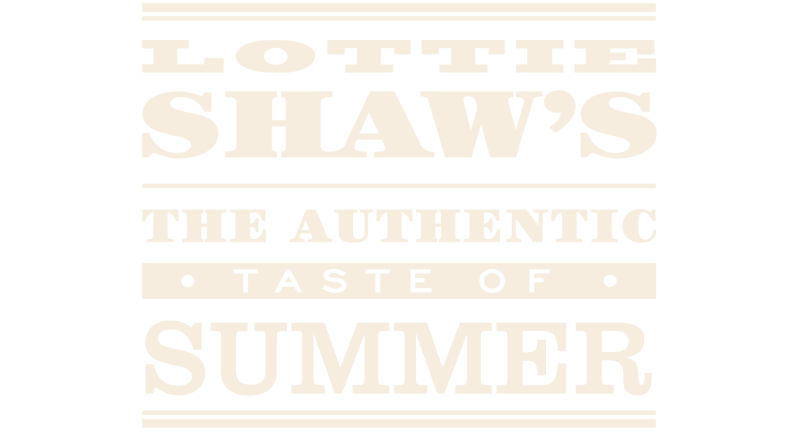 Text that reads: Enjoy the summer with Lottie Shaw's