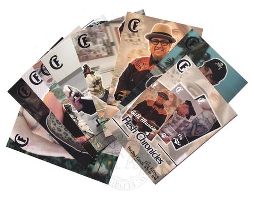 Flesh Chronicles Media Trading Cards