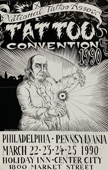 Original National Tattoo Association Convention Poster