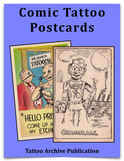 Comic Tattoo Postcards