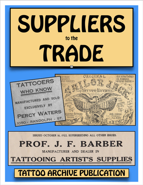Suppliers to the Trade Booklet