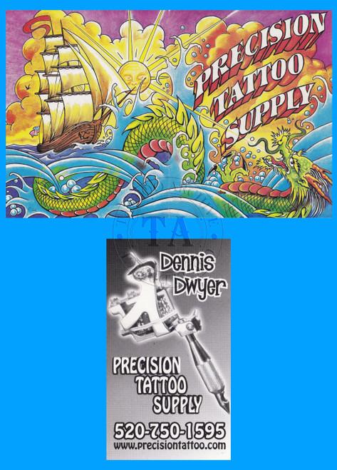 Original Dennis Dwyer Business Card & Catalog Cover