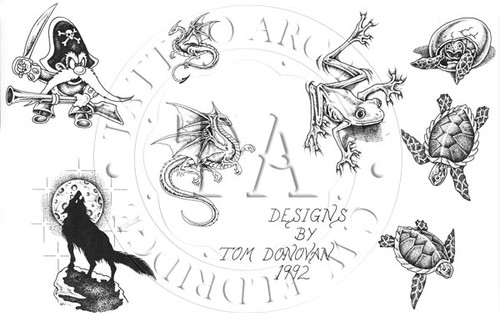 Tom Donovan Flash Set #4 1992