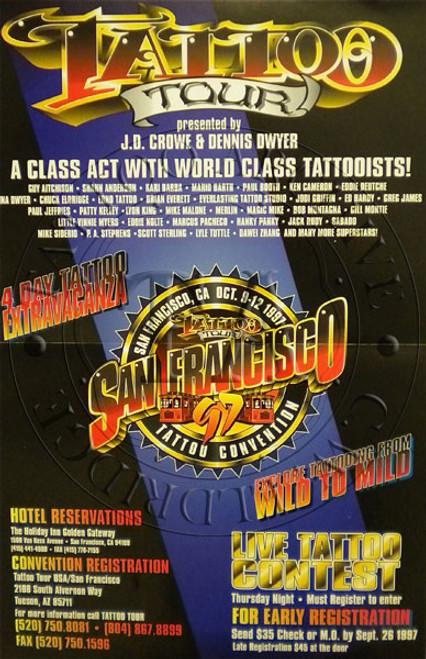 Tattoo Tour Poster - 1997