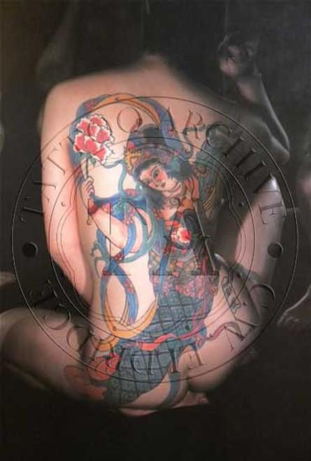 Tattooed Woman Poster - 2