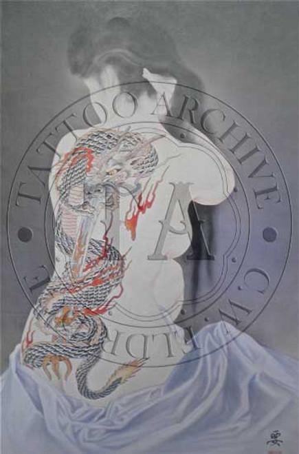Dragon Back Piece Poster