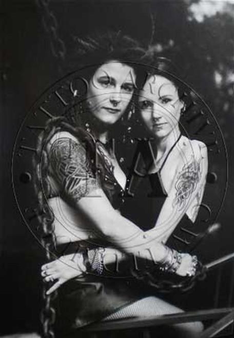 Two Tattooed Women Poster