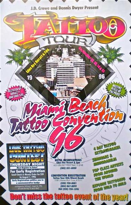 Tattoo Tour Poster 1996