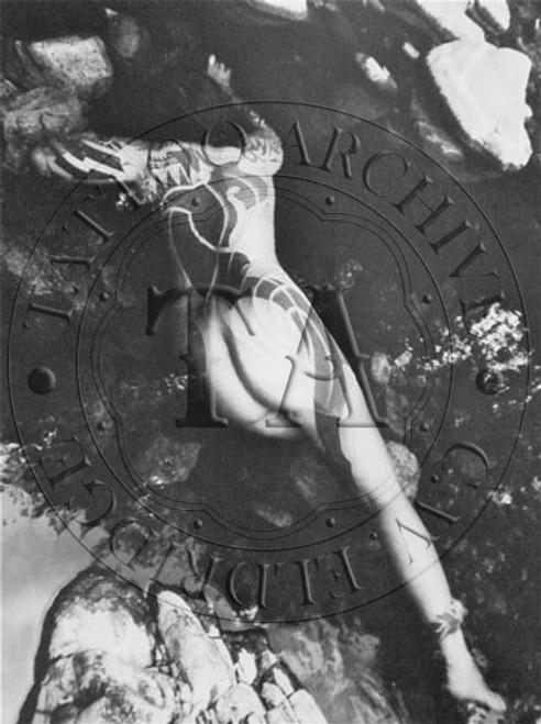 Tattooed Woman Poster  - 3