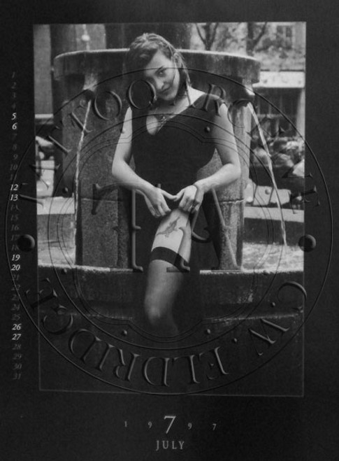 Tattooed Woman Poster - 8