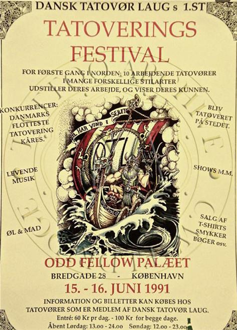Danish Tattoo Festival Poster