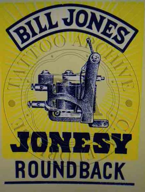 Bill Jones Machine Poster (Roundback)