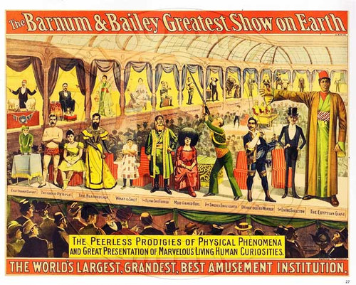 Frank & Annie Howard Poster