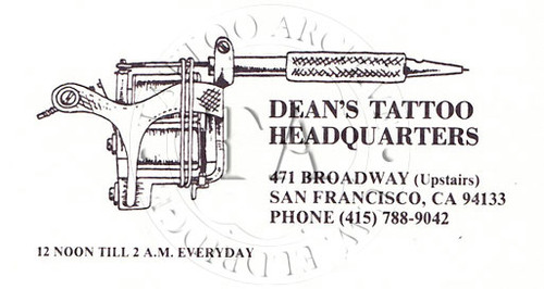 Dean Dennis Business Card
