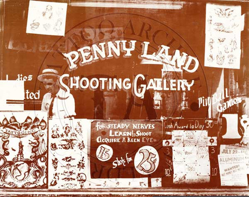 Penny Land Shooting Gallery Shop Front