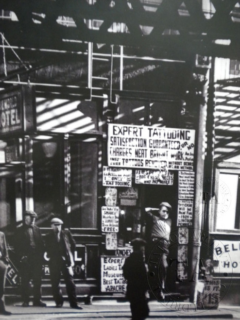 Poster of Prof. Lou Morman's Shop Front