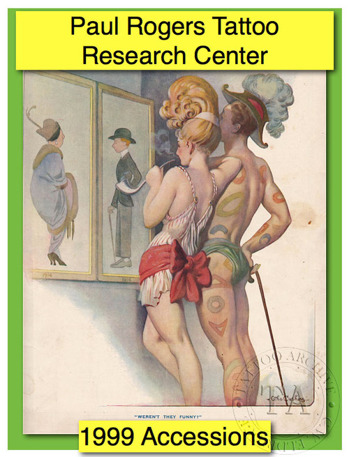 1999 Paul Rogers Tattoo Research Center Accession Book