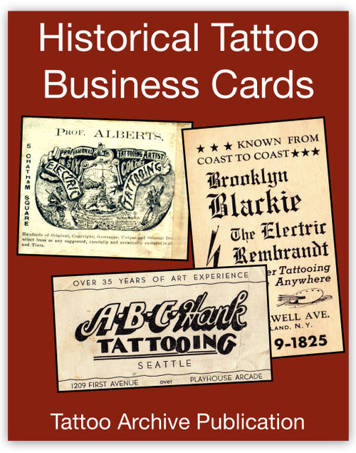 Historical Tattoo Business Cards