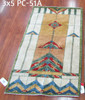 Stained Glass 3x5 Rug
