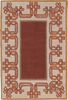 Chinese Lantern Burgundy Rug
