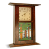 Arts & Crafts Clock with 6x8 Landscape Tile CWT-68-NBO
