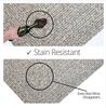 Stain Free Slate Rug