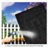 Black Easy Clean Rug