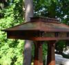 Craftsman Prairie Double Pedestal Table Lamp