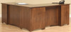 Prairie Mission L-Desk and Hutch 641-YT-650