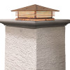 "Mariposa Shallow Column Mount with 18"" Roof 395-61"
