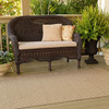 Biscuit Brown Outdoor Rug