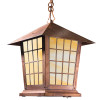 """Spring Street Chain Pendant with 9"""" Roof 1022-4"""