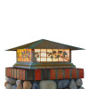 """Spring Street Column Mount with 21"""" Roof 1026-61"""