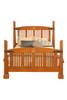 Hubbard Rose Motif Inlay  Bed     JS605-DD