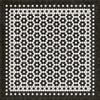 33082 MOSAIC C-CATHERINE ST 48 X 48 Vinyl Floor Cloth