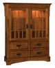 """Norway Mission 60""""h Hutch HNOH30-HB"""