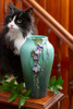 Skyflower Ceramic Pottery Vase by Ephraim Pottery