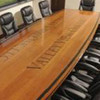 Custom Logo on Conference Room Table