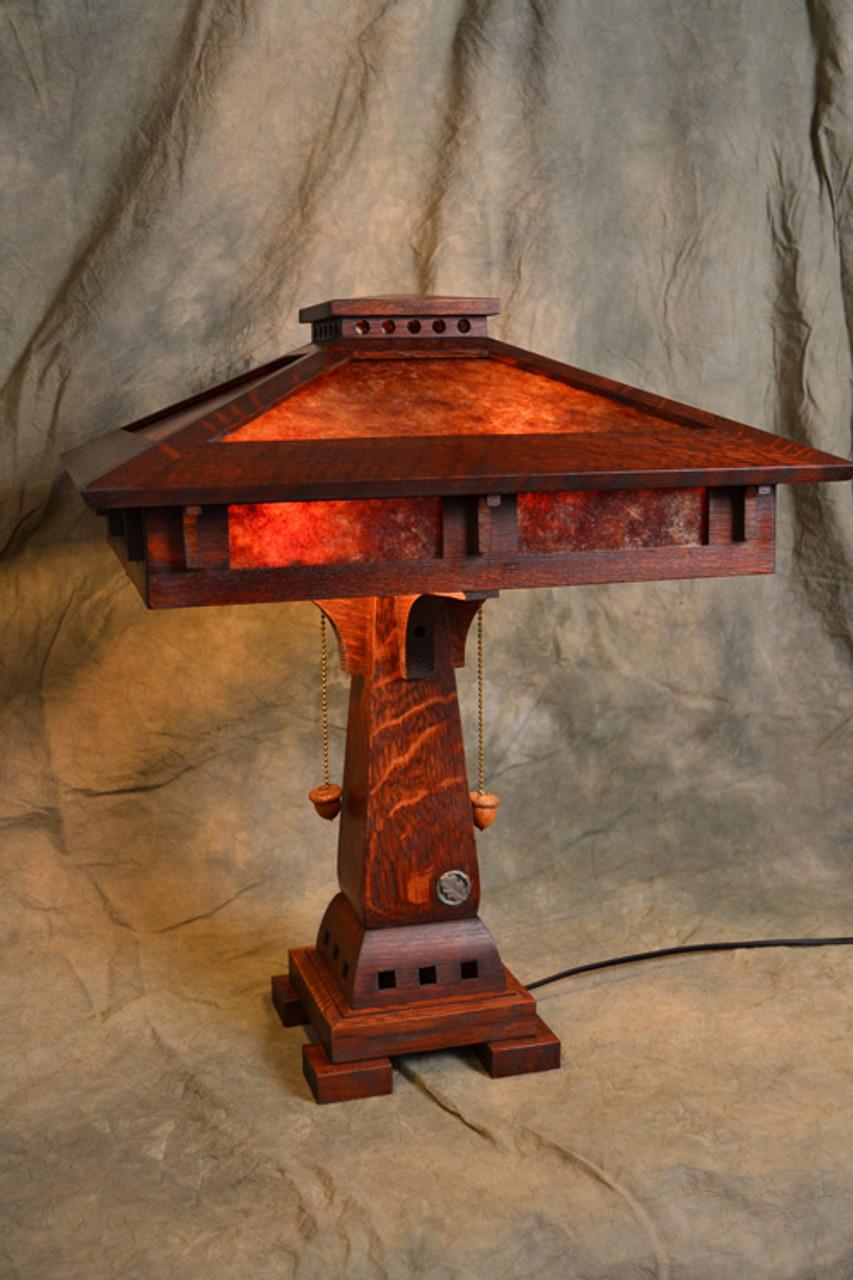 Craftsman Prairie Table Lamp