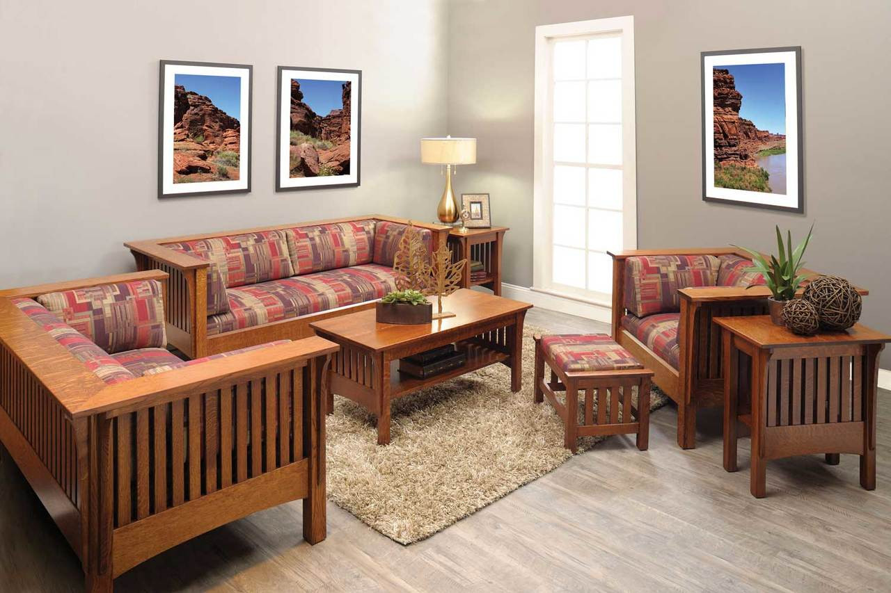 Best Mission Style Living Room Furniture