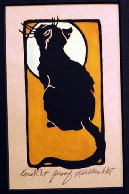 Feral Cat Print