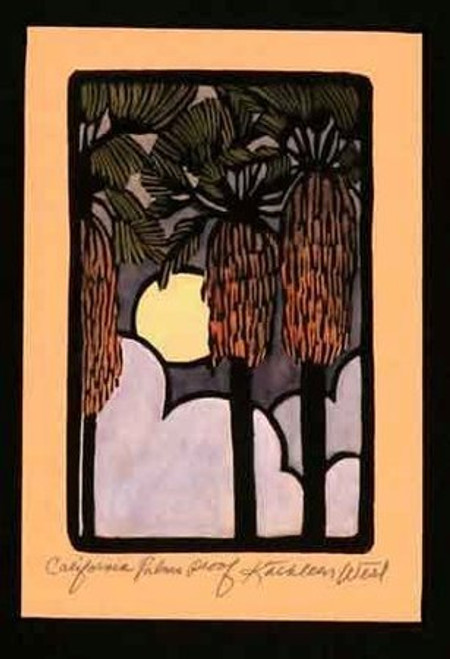 California Palms Print