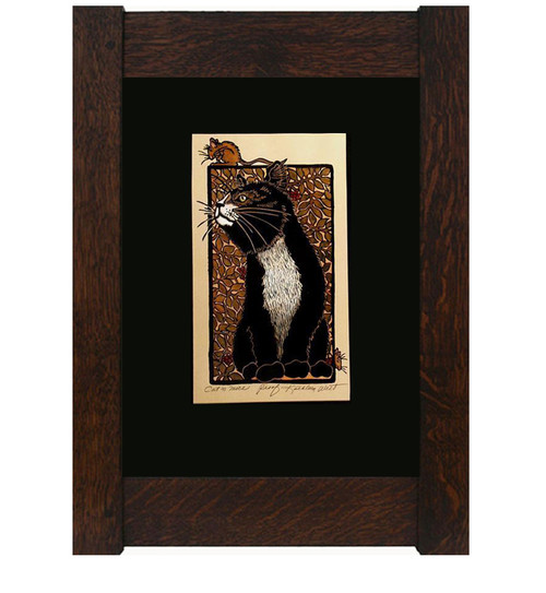 Cat and Mice Print