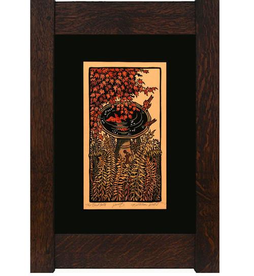 The Bird Bath Print