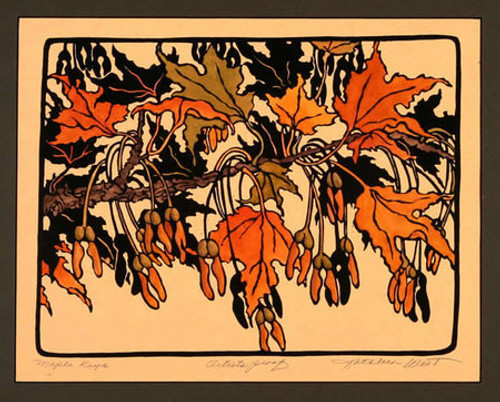 Maple Keys Print