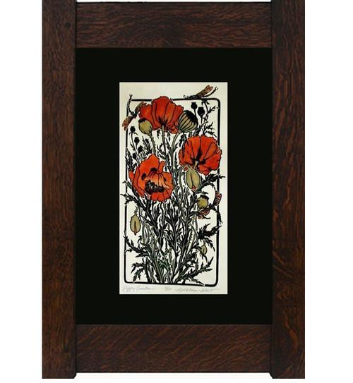Poppy Garden Print