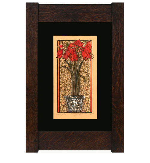 Amaryllis Print by Kathleen West