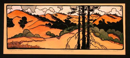 California Hills Print